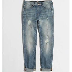 J. Crew Boyfriend Stretch Jeans Broken In